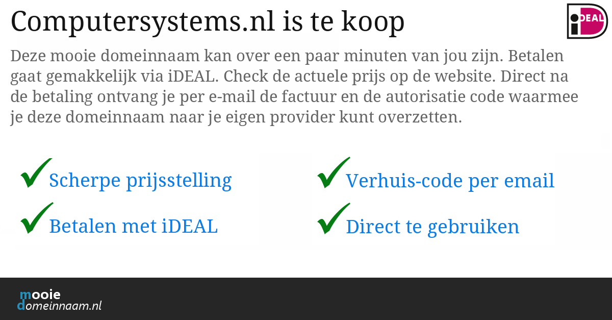(c) Computersystems.nl